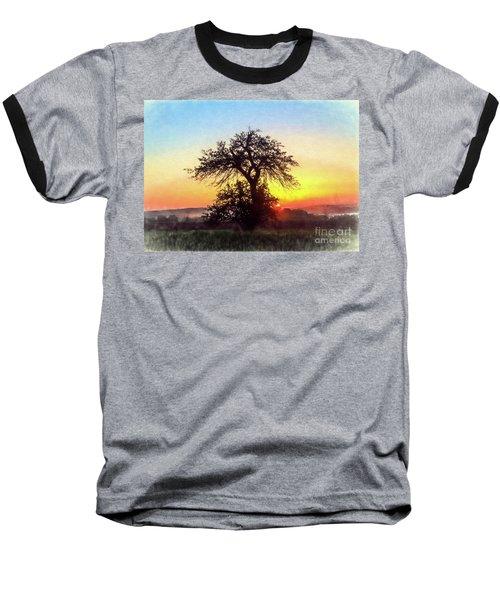 Early Morning Sunrise Baseball T-Shirt