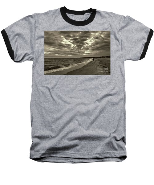 Early Morning Walk On Virginia Beach Baseball T-Shirt