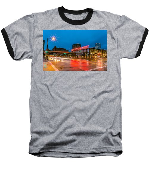 Early Morning Zoom Baseball T-Shirt