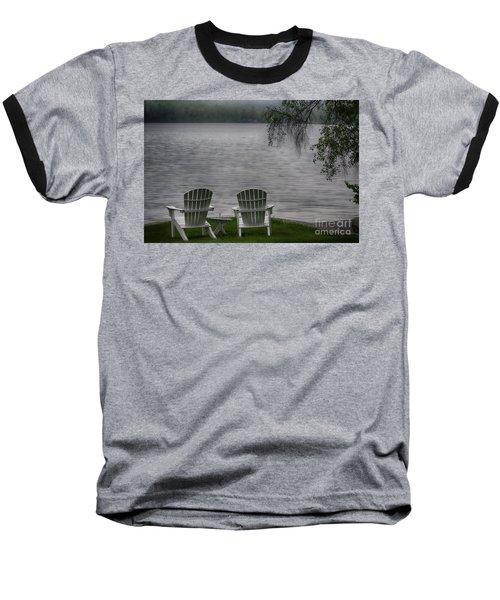 Early Mornong Fog Baseball T-Shirt