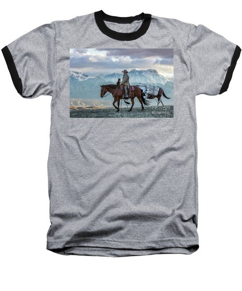 Early October Hunt Wild West Photography Art By Kaylyn Franks Baseball T-Shirt