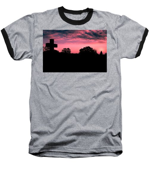 Early On The Hill Baseball T-Shirt