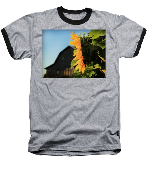 Baseball T-Shirt featuring the photograph Early One Morning by Chris Berry