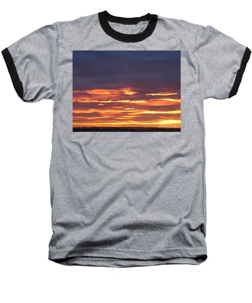 Early Prairie Sunrise Baseball T-Shirt
