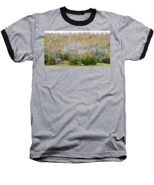 Early Snow Fall Baseball T-Shirt