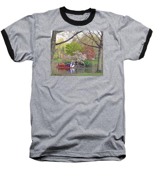 Early Spring Boston Baseball T-Shirt by Barbara McDevitt