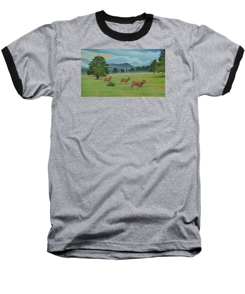 Early Spring Evergreen Baseball T-Shirt