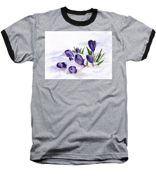 Early Spring In Montana Baseball T-Shirt
