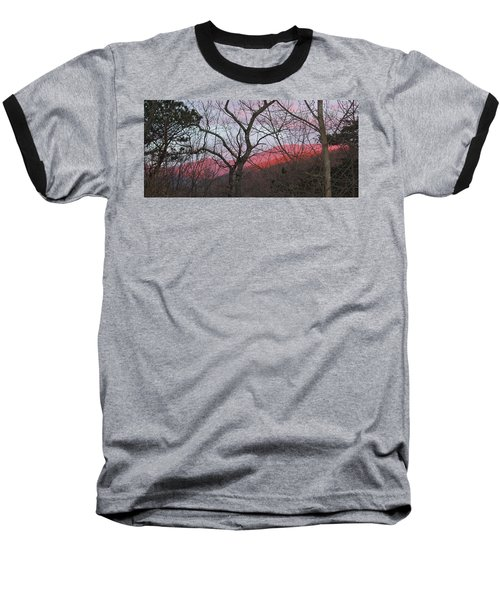 Baseball T-Shirt featuring the photograph Early Spring Sunrise by Tammy Schneider