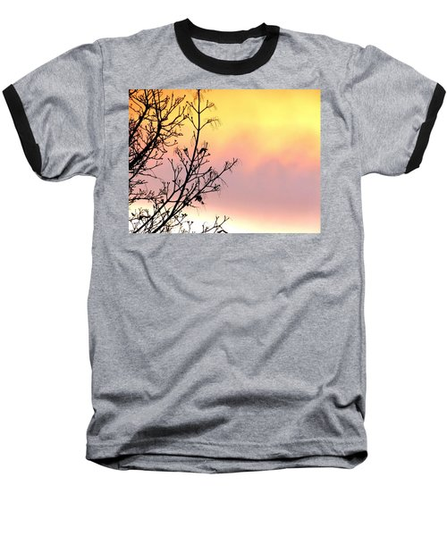 Baseball T-Shirt featuring the photograph Early Spring Sunset by Will Borden