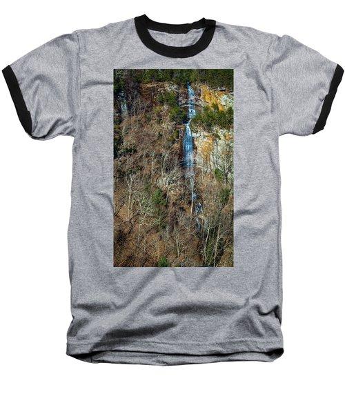 Early  Spring Waterfall  Baseball T-Shirt