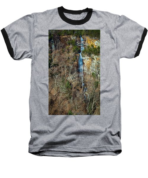 Early  Spring Waterfall  Baseball T-Shirt