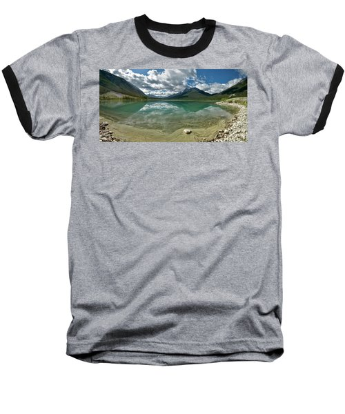 Early Summer Day On Goat Pond Baseball T-Shirt by Sebastien Coursol