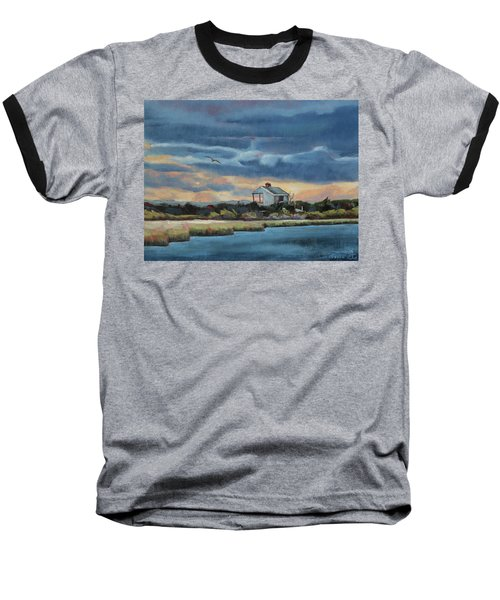 Early Winter Nocturne Baseball T-Shirt