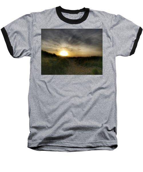 Early Winter Sun Baseball T-Shirt
