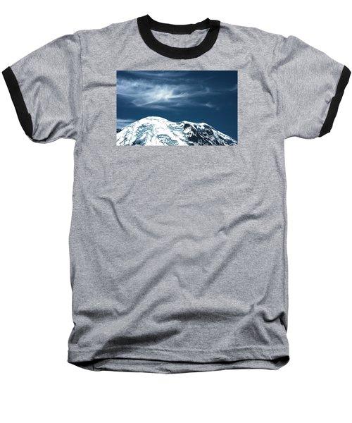 Earth And Heaven Baseball T-Shirt by John Rossman