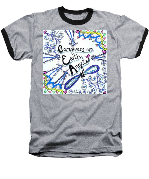 Earth Angel Baseball T-Shirt