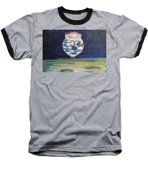 Earth Aura Baseball T-Shirt