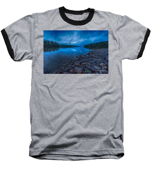 Earth Day Rain At The Tatoe Hole  Baseball T-Shirt by Robert Loe