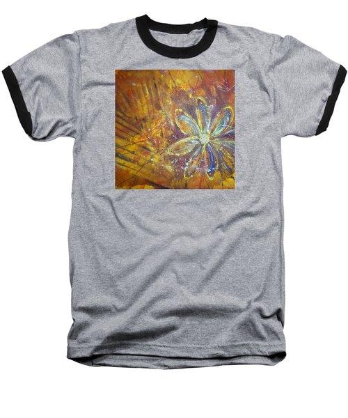 Earth Flower Baseball T-Shirt