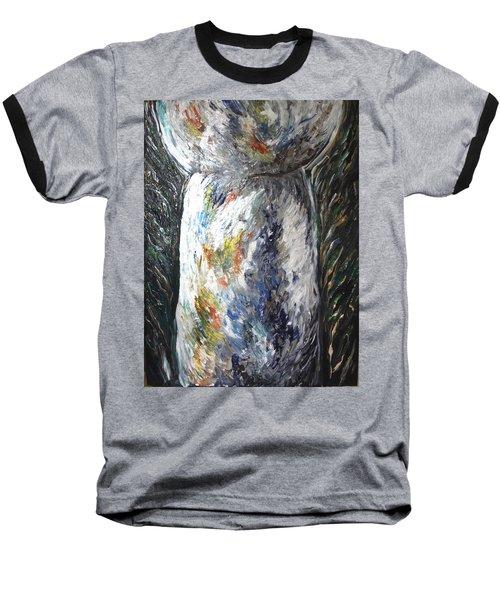 Earth Latte Stone Baseball T-Shirt