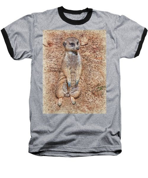 Baseball T-Shirt featuring the photograph Earth Manikin by Hanny Heim