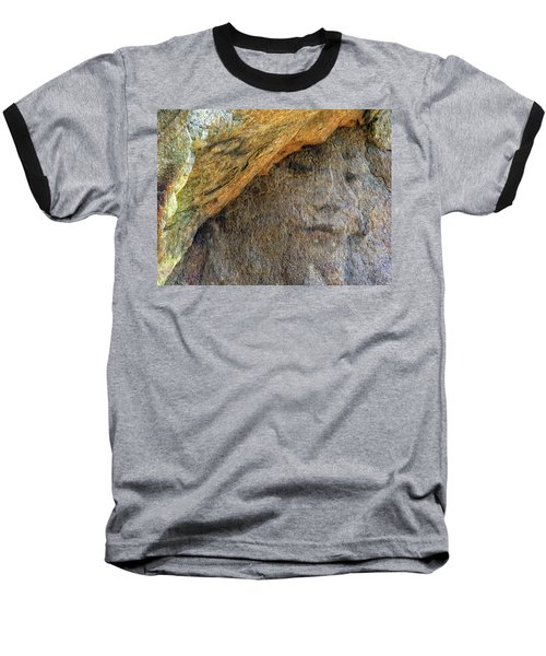 Baseball T-Shirt featuring the photograph Earth Memories-stone # 4 by Ed Hall