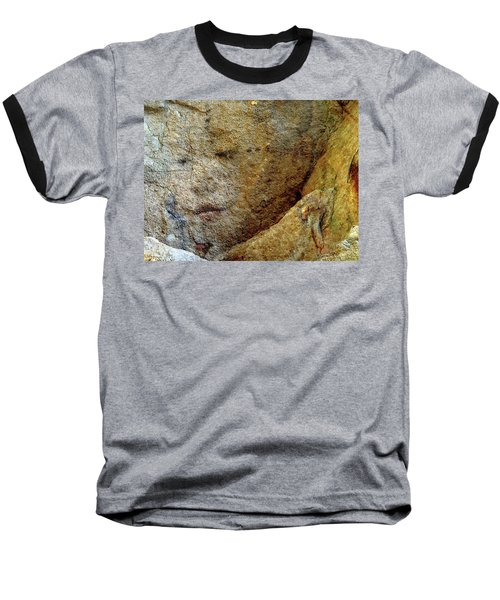 Baseball T-Shirt featuring the photograph Earth Memories - Stone # 5 by Ed Hall