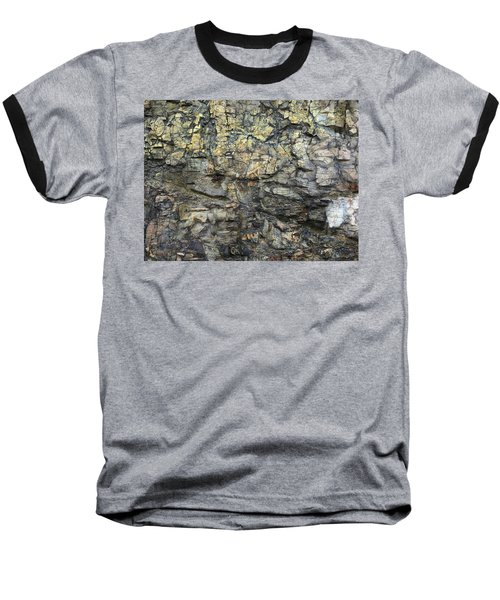 Baseball T-Shirt featuring the photograph Earth Memories - Stone # 6 by Ed Hall