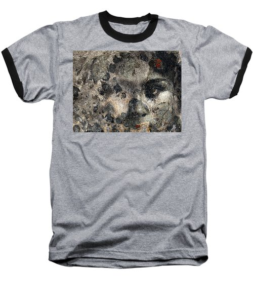 Baseball T-Shirt featuring the photograph Earth Memories - Stone # 7 by Ed Hall