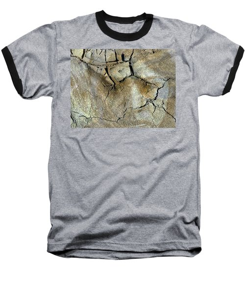Baseball T-Shirt featuring the photograph Earth Memories-thirsty Earth by Ed Hall