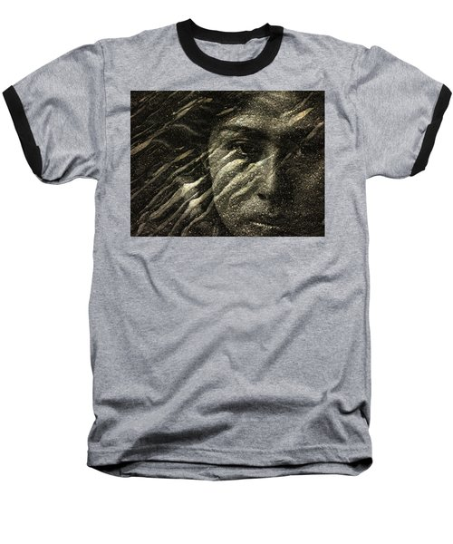 Baseball T-Shirt featuring the photograph Earth Memories - Water Spirit by Ed Hall