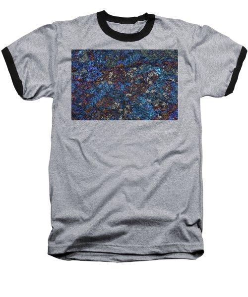 Earth Portrait Baseball T-Shirt