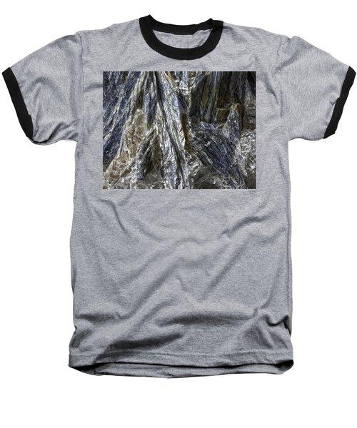 Earth Portrait Kyanite 001-089 Baseball T-Shirt
