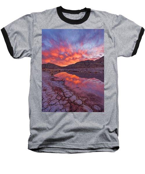 Earth Scales Baseball T-Shirt