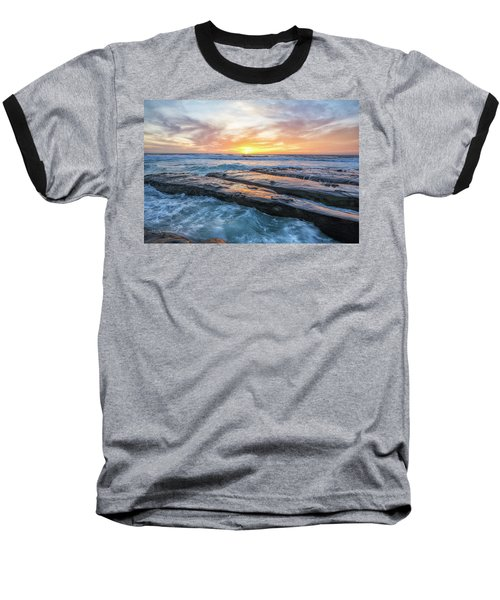 Earth, Sea, Sky Baseball T-Shirt