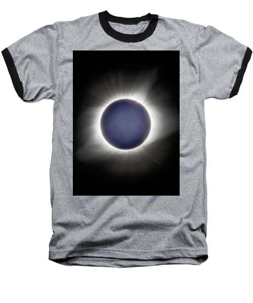 Earth-shine Baseball T-Shirt