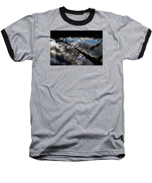 Earth To Water Baseball T-Shirt by Alana Thrower