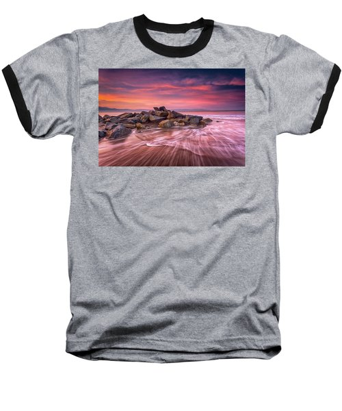 Earth, Water And Sky Baseball T-Shirt