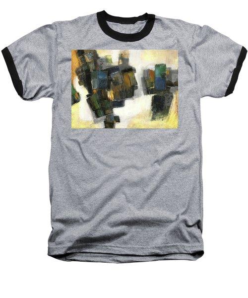 Lemon And Tiles Baseball T-Shirt