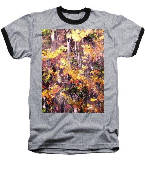 Earthy Water Baseball T-Shirt
