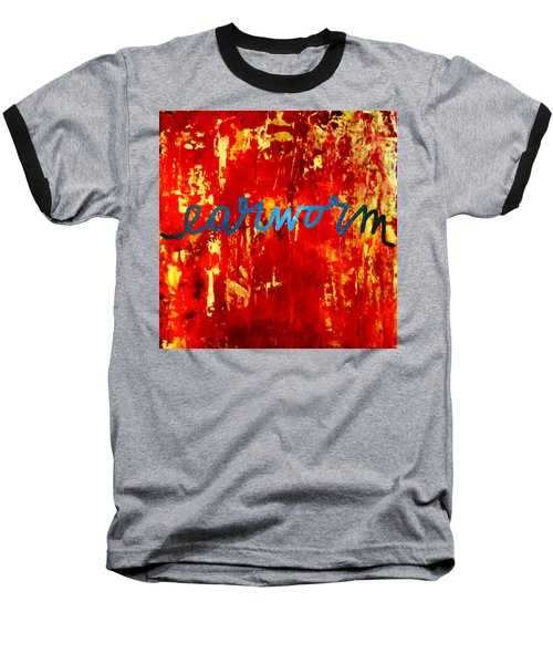 Earworm Baseball T-Shirt