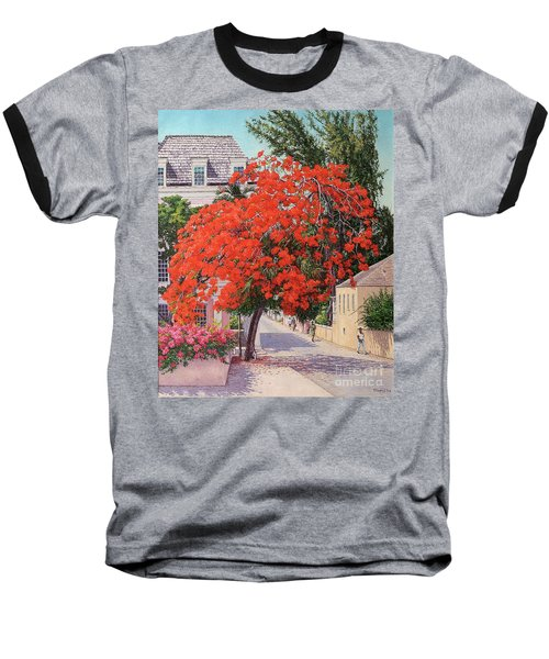 East And Shirley Street Baseball T-Shirt