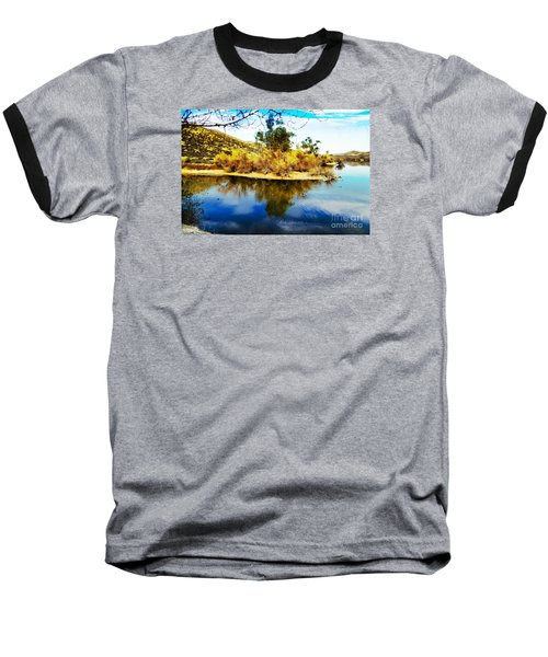 Baseball T-Shirt featuring the photograph East Bay, Canyon Lake, Ca by Rhonda Strickland