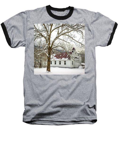 East Chapel Church Baseball T-Shirt