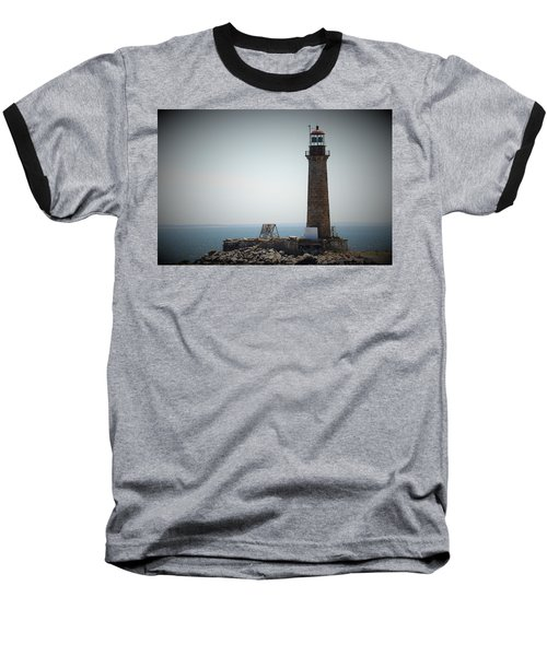 East Coast Lighthouse Baseball T-Shirt