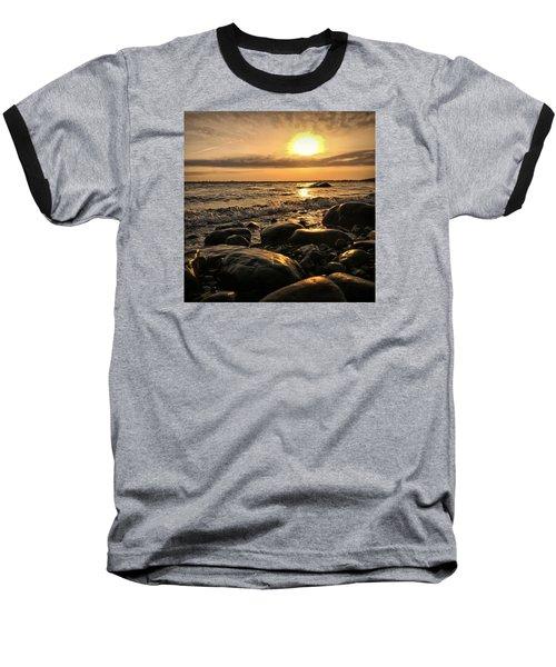 East Coast Sunset 1 Baseball T-Shirt