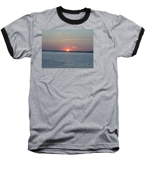 Baseball T-Shirt featuring the photograph East Cut by Newwwman