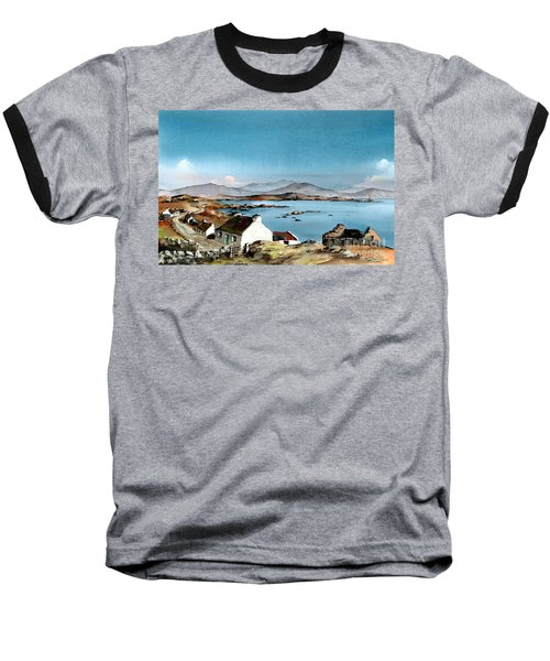East End, Inishboffin, Galway Baseball T-Shirt