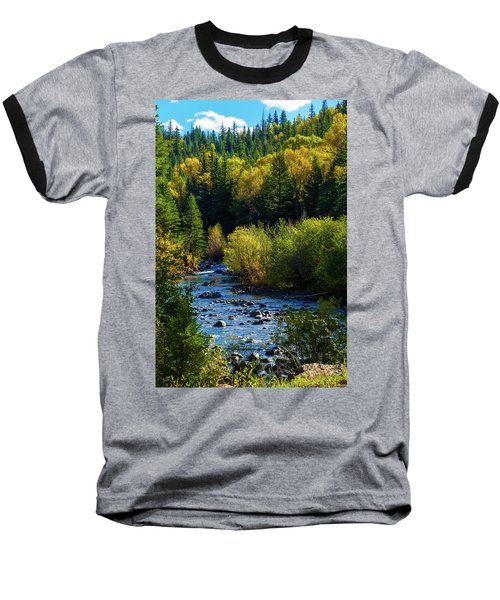 East Fork Autumn Baseball T-Shirt by Jason Coward